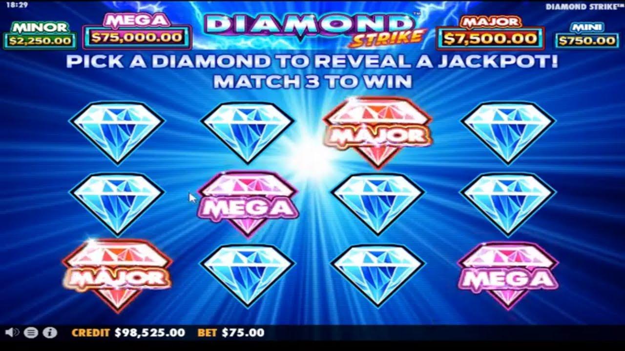slot diamond strike
