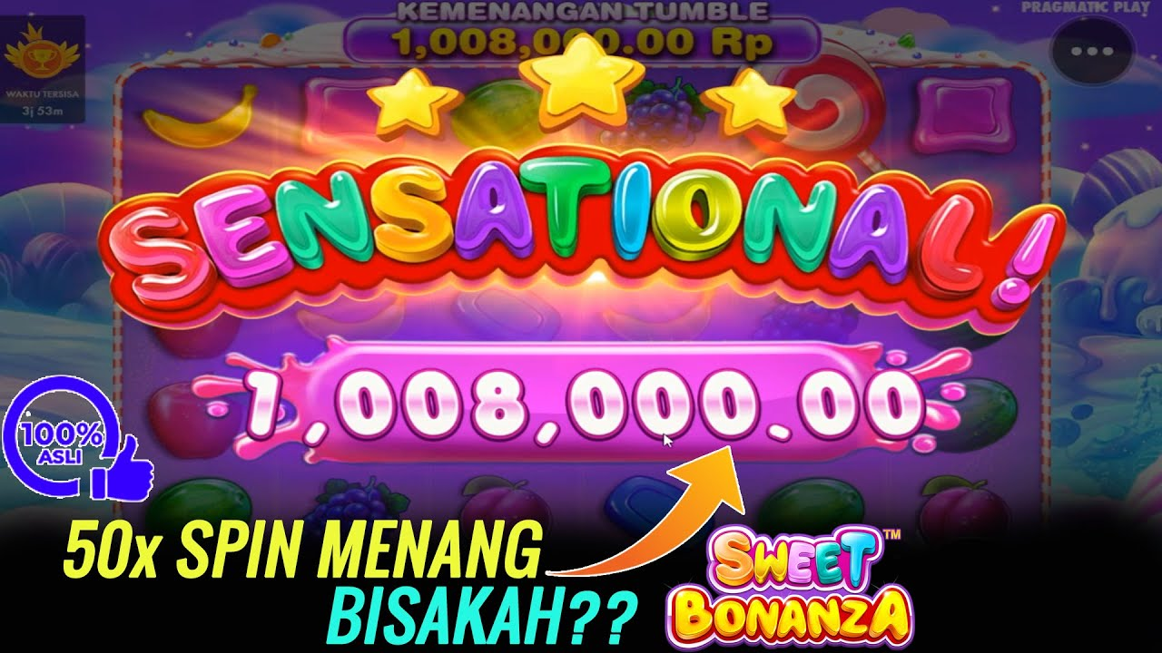 Cara Menang Slot Pragmatic Bonanza Jackpot 10 JT